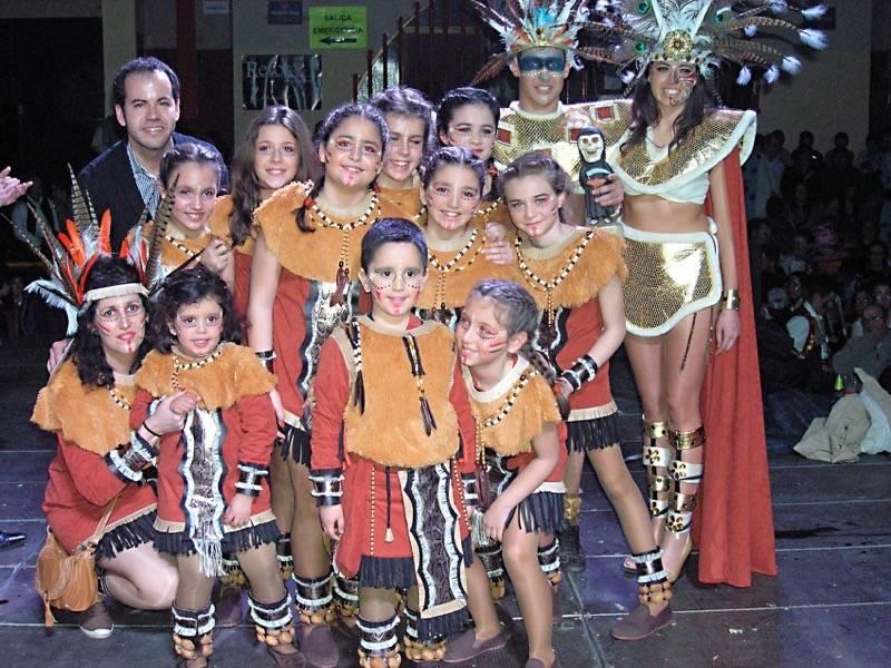 Axonsou ganadores locales del desfile del Ofertorio del carnaval de herencia