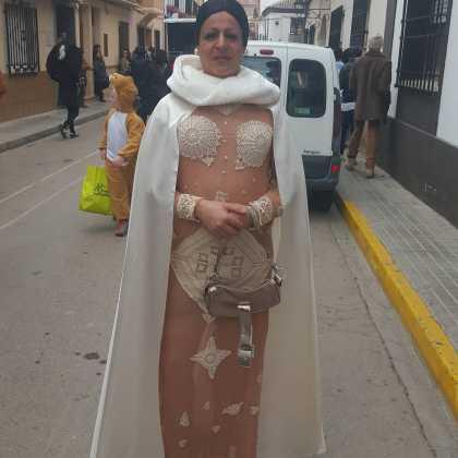 Chechu fernández de Cristina Pedroche en el Carnaval de Herencia