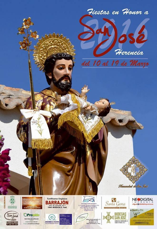 Cartel de San José de Herencia 20165