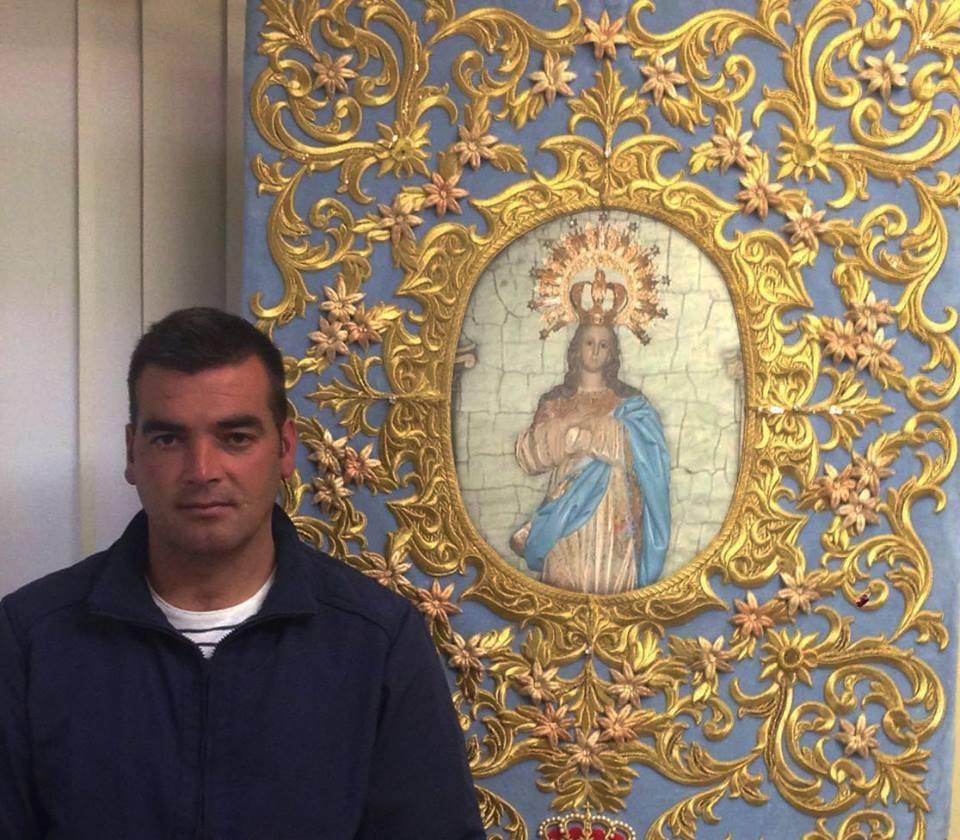 Francisco Javier Bermudez primer presidente de la hermandad de la Inmaculada