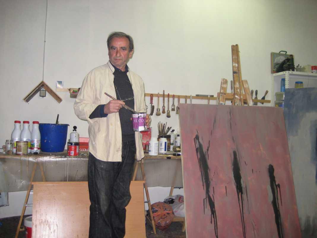 Giordano Vaquero pintor 1068x801 - El Patronato de Cultura presenta las actividades para abril 2016