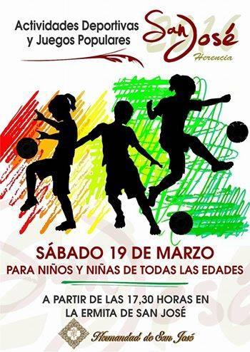 actividades deportivas y populares para niños