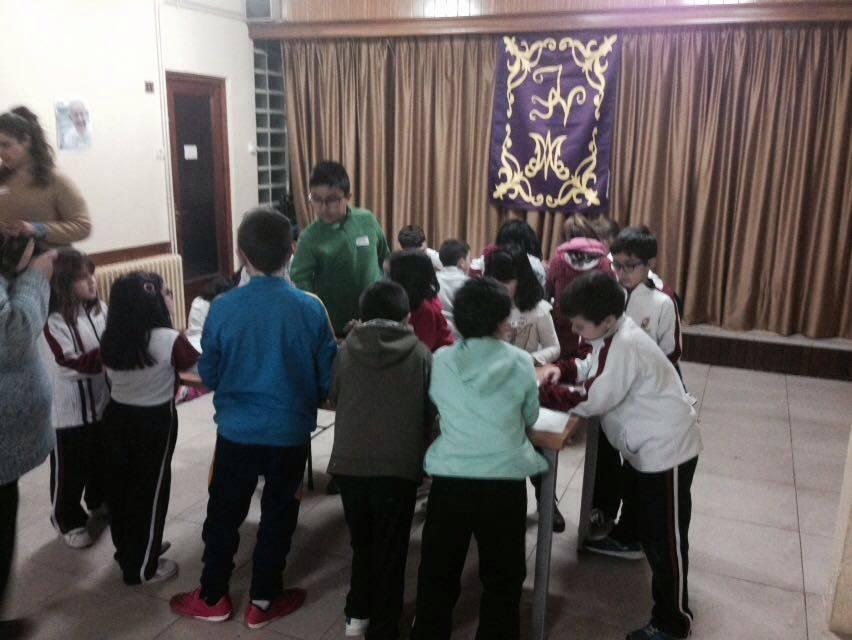 actividades infantiles de la V Semana Cofrade de Los Moraos - Éxito en el inicio de la V Semana Cofrade de Los Moraos
