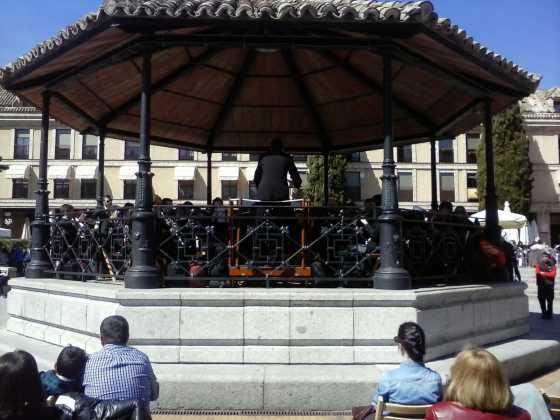agupacion musical santa cecilia de Herencia en Las Rozas2 560x420 - Actuación de la agrupación musical Santa Cecilia en Las Rozas