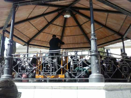 Actuación de la agrupación musical Santa Cecilia en Las Rozas 1