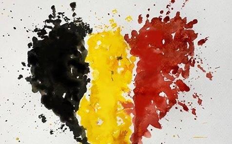 Minuto de silencio en condena a los atentados de Bruselas 1