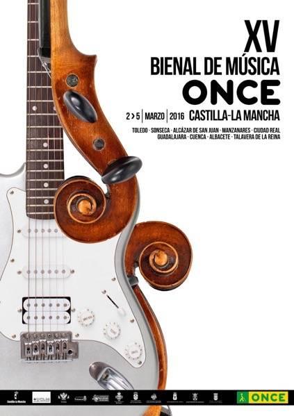La XV Bienal de Música ONCE llegará hasta Alcázar de San Juan 1