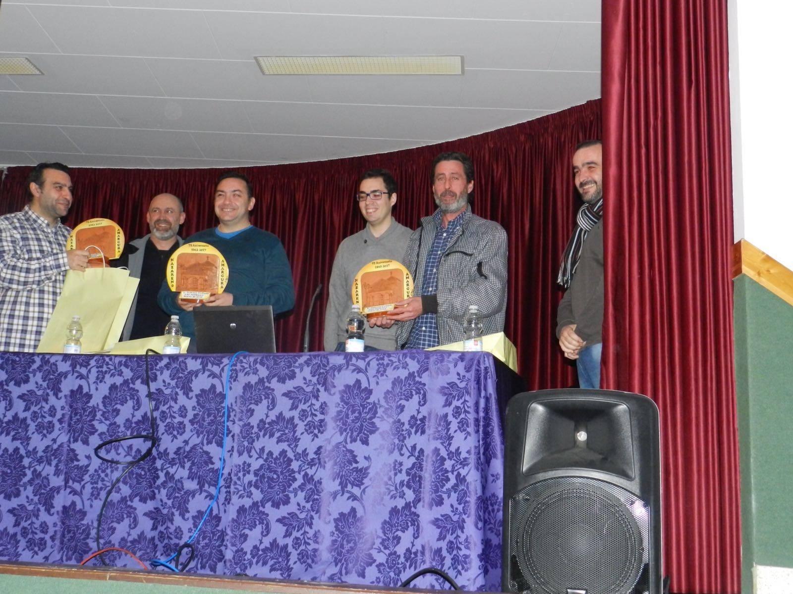 charla sobre costaleros de la V Semana Cofrade de los Moraos de Herencia - Éxito en el inicio de la V Semana Cofrade de Los Moraos