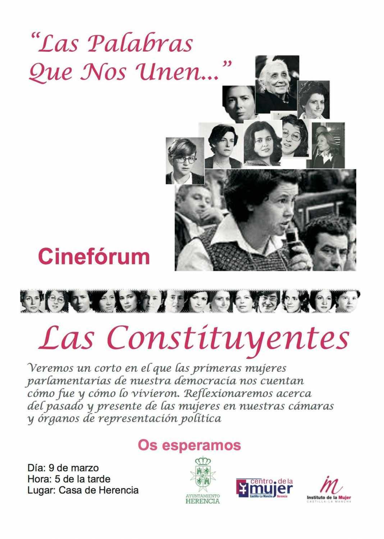 """Cinefórum: """"Las Constituyentes"""" el próximo día 9 1"""