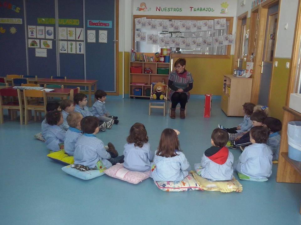 Vuelven los cuentos de la Biblioteca a la Escuela Infantil 1