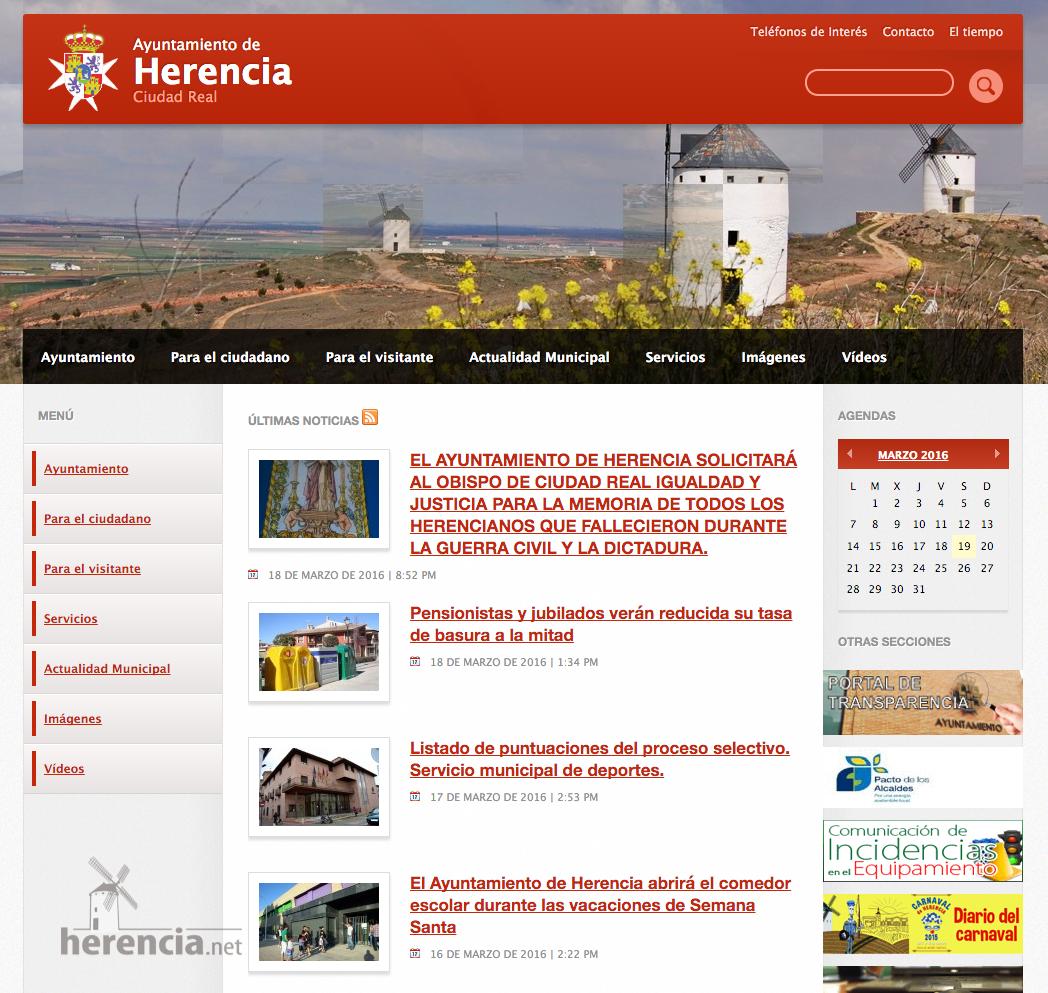 noticia sobre mosaicos para sustituir placas bien destacada en la web - Ayuntamiento ya tenía listos los mosaicos para sustituir las placas de la fachada del Convento