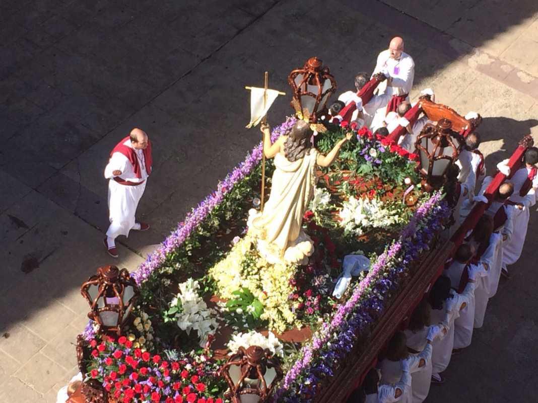 """procesion del resucitado en herencia1 1068x801 - Recorrido de la """"Procesión del Resucitado"""" en tiempo real"""