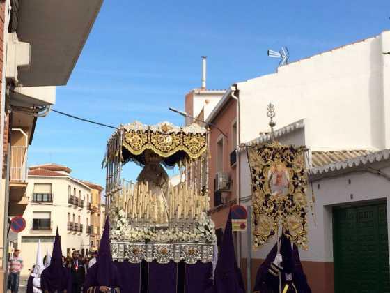 procesion del resucitado en herencia9 560x420 - Procesión del Resucitado en Herencia. Fotografías y vídeos