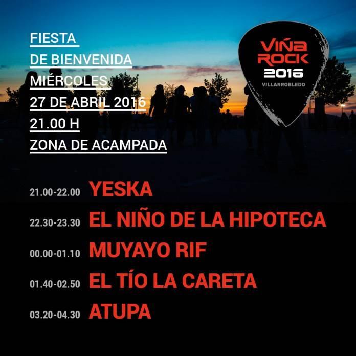 Yeska abrirá el festival de Viña Rock 2016 1