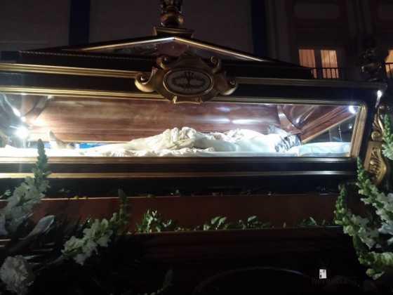 Cristo Yacente de Herencia1 560x420 - Estación de Penitencia de la Cofradía del Santo Entierro