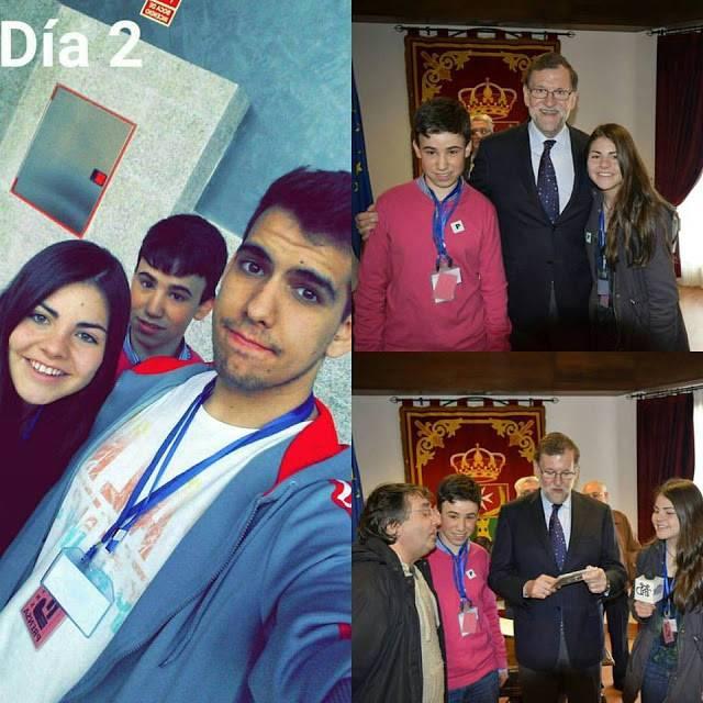 Alumnos del IES Hermógenes Rodríguez entrevistan a Mariano Rajoy 1
