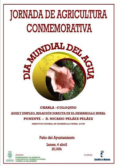 Jornada de Agricultura dia mundial del agua en Herencia