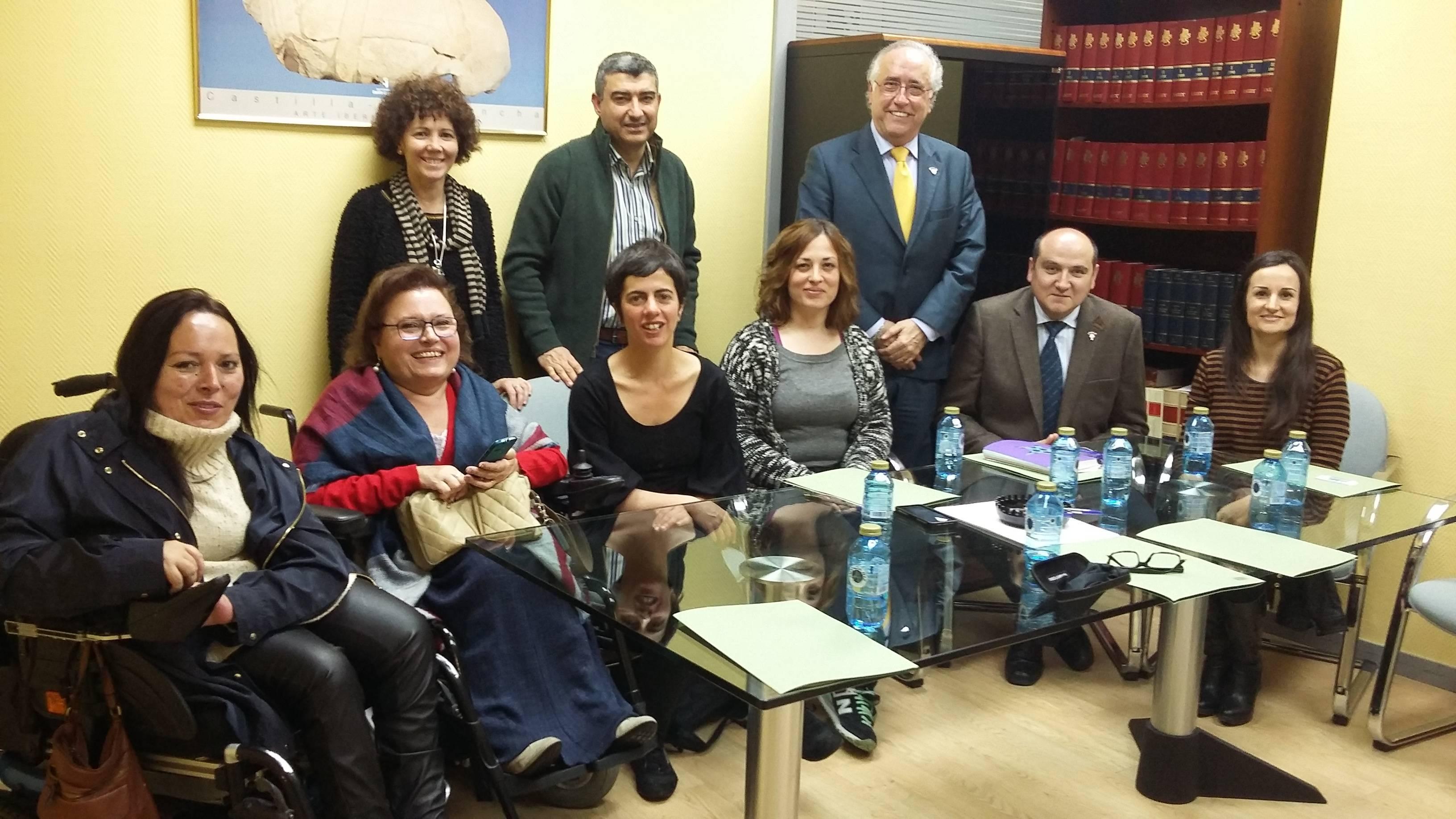 Reunion directores provinciales con Ciudad Accesible