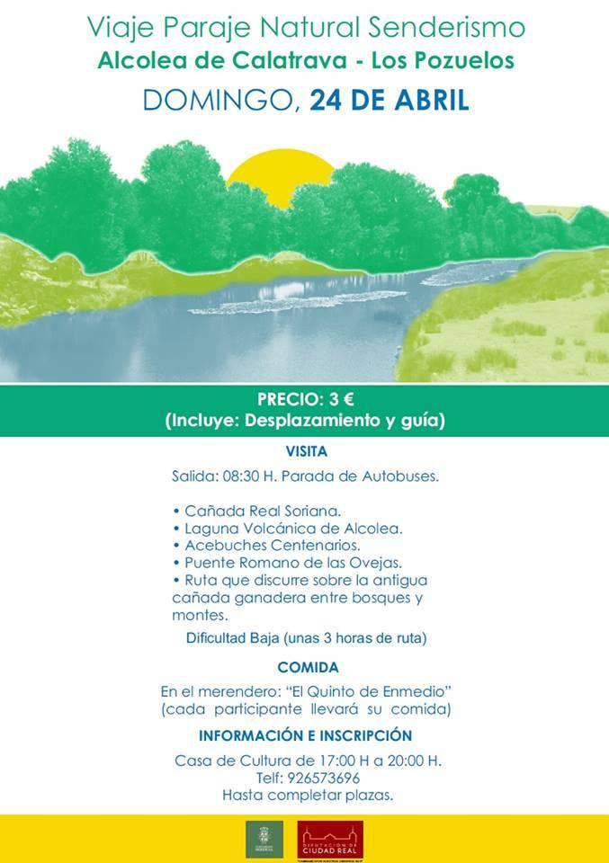 Ruta de senderismo Alcolea de Calatrava Los Pozuelos - Viaje de senderismo a Alcolea de Calatrava-Los Pozuelos