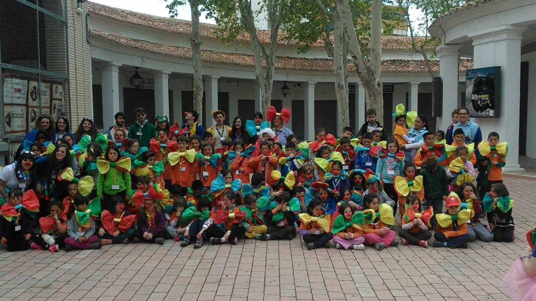 Scout de Herencia en el encuentro regional San Jorge CLM de Albacete 1068x601 - El grupo Scout La Inmaculada participa en el encuentro regional de scouts católicos