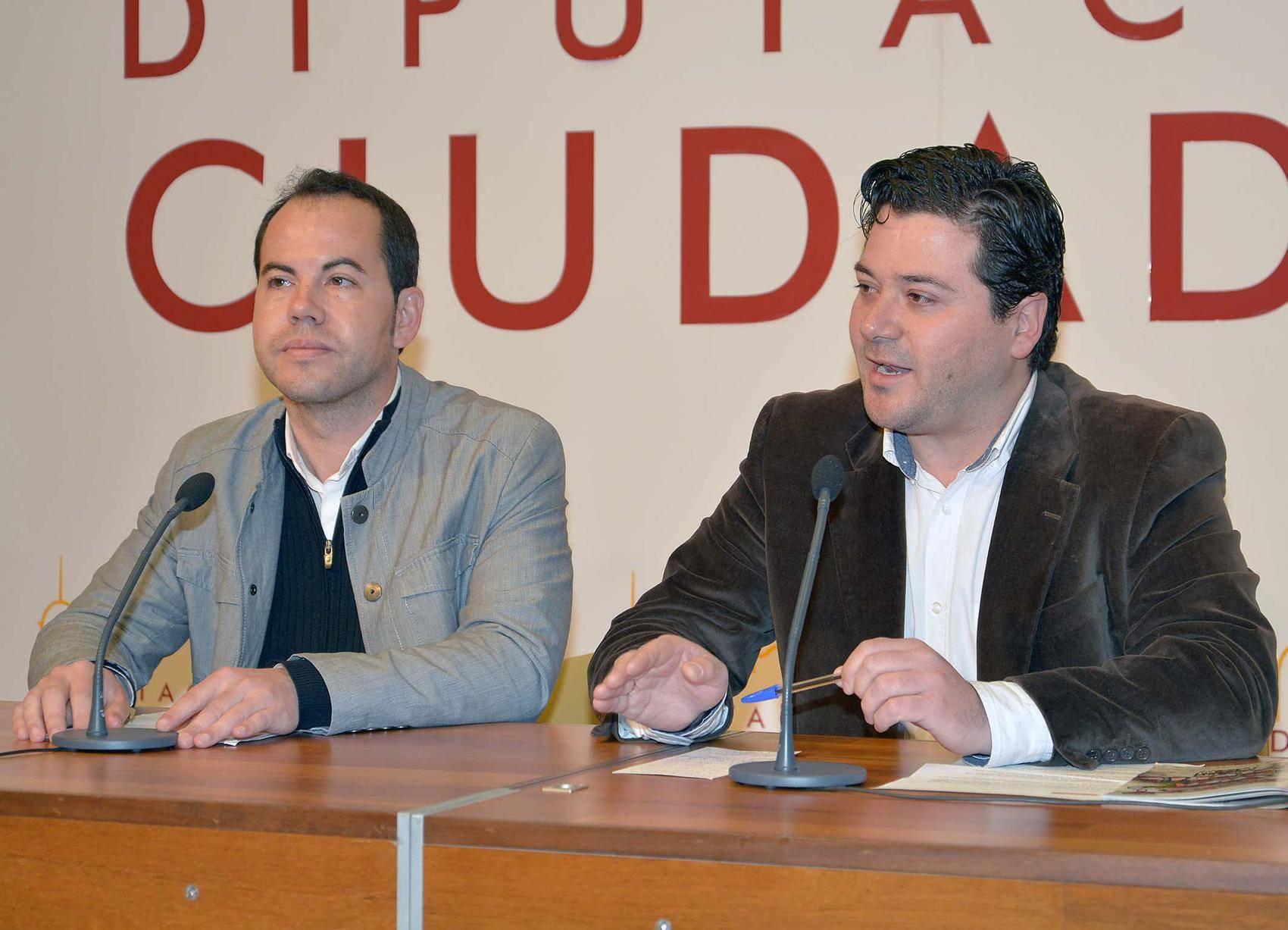 Sergio Garcia Navas y David Triguero presenracion XXI gala del deporte - XXI edición de la Gala del Deporte en el Auditorio de Herencia