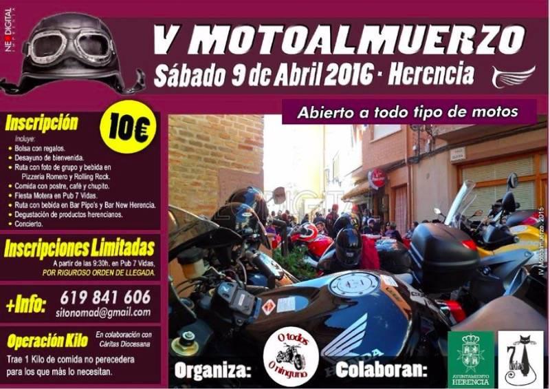 V Motoalmuerzo de herencia - Herencia acoge la celebración de su V Motoalmuerzo