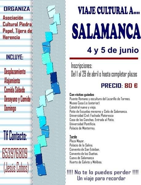 Viaje cultural a la ciudad de Salamanca 1