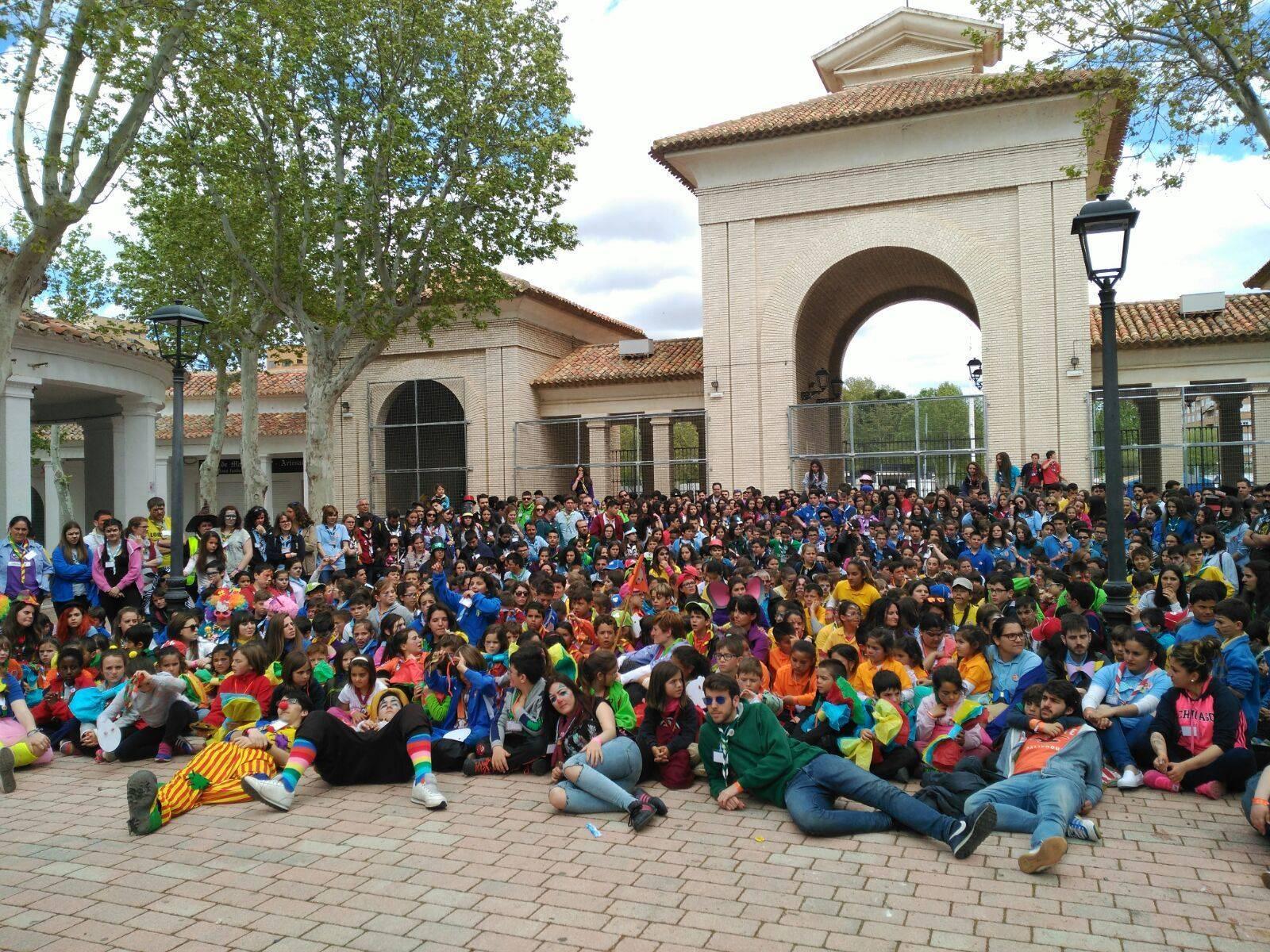celebracion regional de san jorge de los scout catolicos de clm