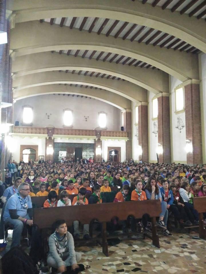 celebracion regional de san jorge de los scout catolicos de clm2 - El grupo Scout La Inmaculada participa en el encuentro regional de scouts católicos