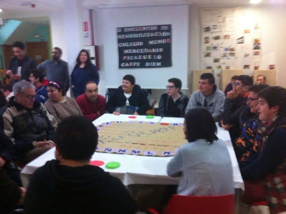centro ocupacional dia del picazuelo 1 - Comienzo de jornadas de sensibilización
