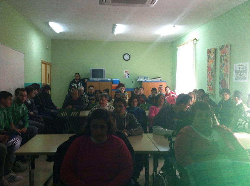 centro ocupacional dia del picazuelo 2 - Comienzo de jornadas de sensibilización