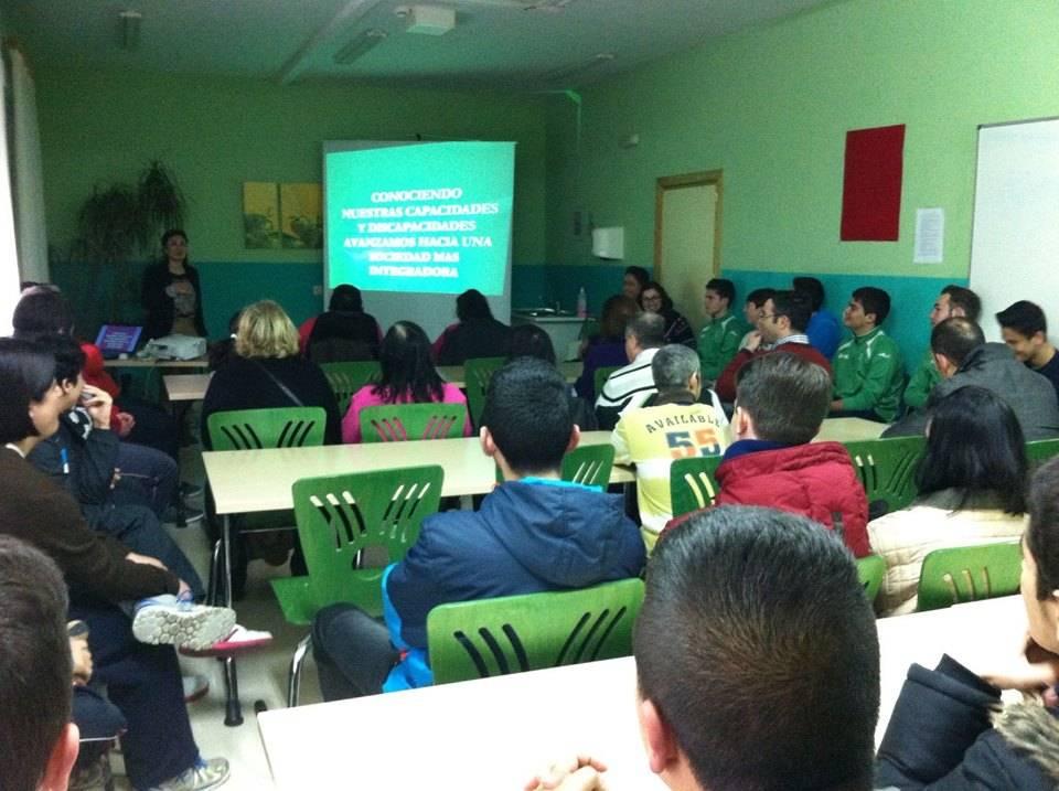 centro ocupacional dia del picazuelo 3 - Comienzo de jornadas de sensibilización