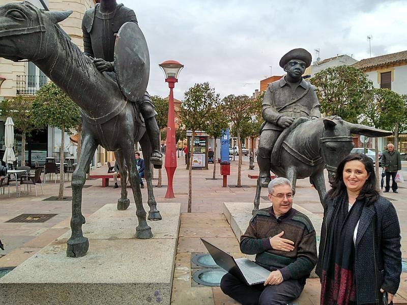 El Quijote en Twitter termina en Alcázar de San Juan 1