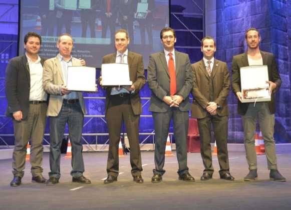 entrega de premios gala del deporte provincial de ciudad real en Herencia 581x420 - Los mejores deportistas de la provincia son premiados en Herencia