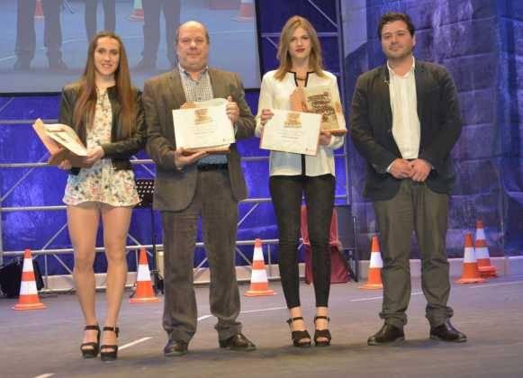 entrega de premios gala del deporte provincial de ciudad real en Herencia13 581x420 - Los mejores deportistas de la provincia son premiados en Herencia