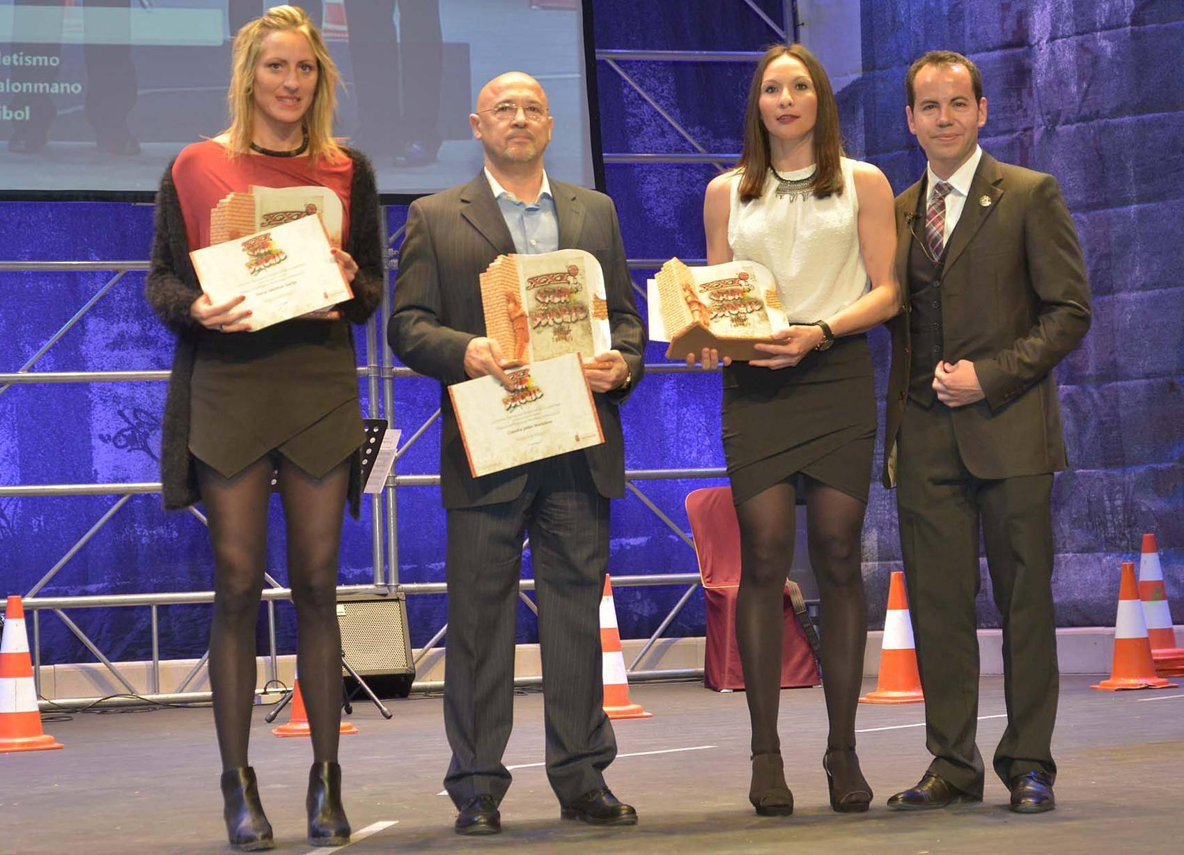 entrega de premios gala del deporte provincial de ciudad real en Herencia3