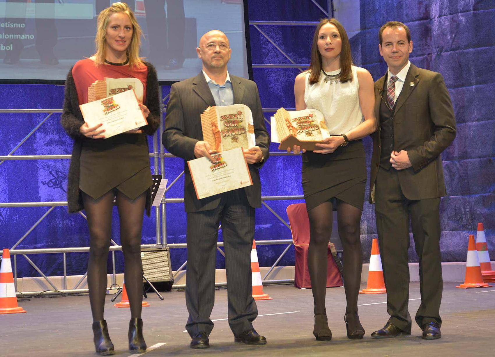 entrega de premios gala del deporte provincial de ciudad real en Herencia3 - Los mejores deportistas de la provincia son premiados en Herencia