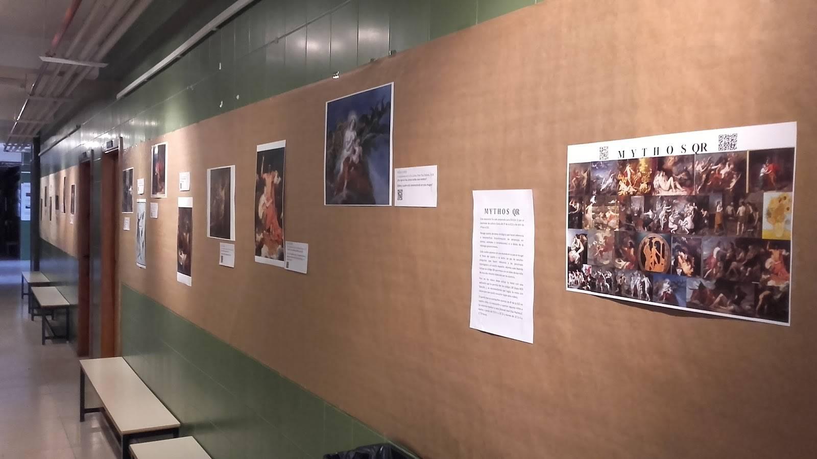 exposicion mythos qr en el hermogenes rodriguez de herencia - La mitología protagonista en la exposición 2.0 del Hermógenes Rodriguez