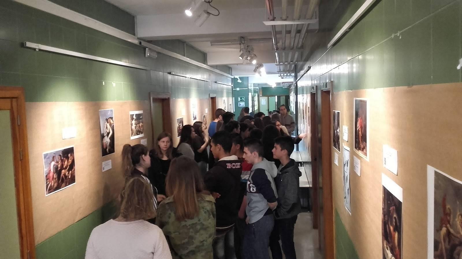 exposicione en el instituto hermogenes rodriguez de herencia - La mitología protagonista en la exposición 2.0 del Hermógenes Rodriguez