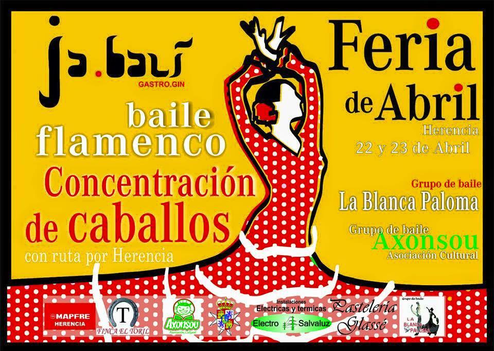 feria de abril en Herencia - La Feria de abril también estuvo en Herencia