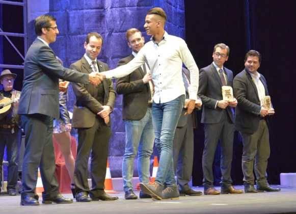 gala del deporte de la provincia de ciudad real en herencia4 581x420 - Gala Provincial del Deporte. Galería Fotográfica