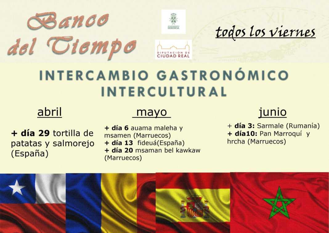 intercambio gastronomico intercultura 1068x755 - Banco de tiempo y su intercambio gastronómico intercultural