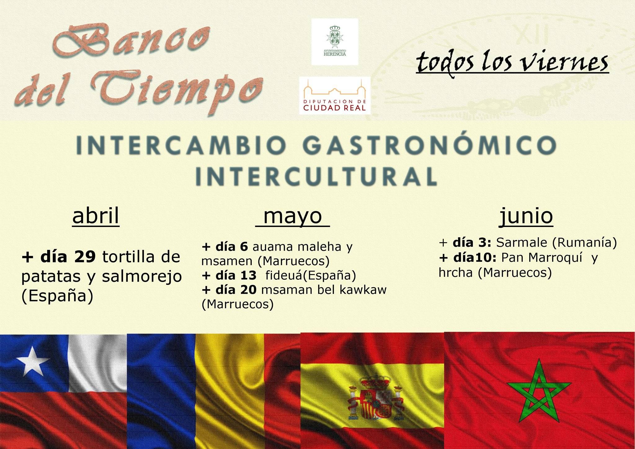 intercambio gastronomico intercultura - Banco de tiempo y su intercambio gastronómico intercultural