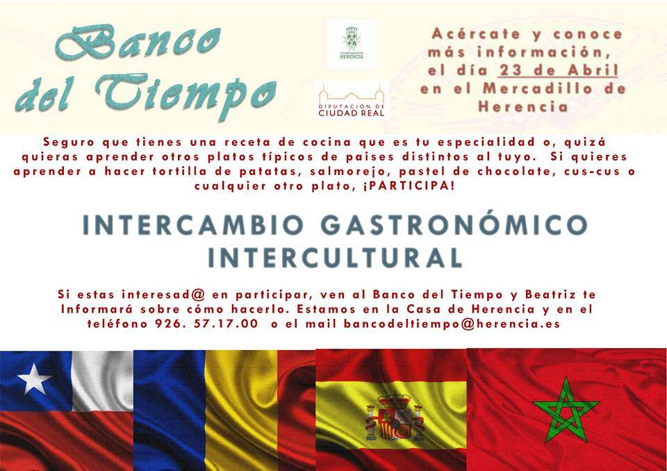 intercambio gastronomico intercultural en herencia