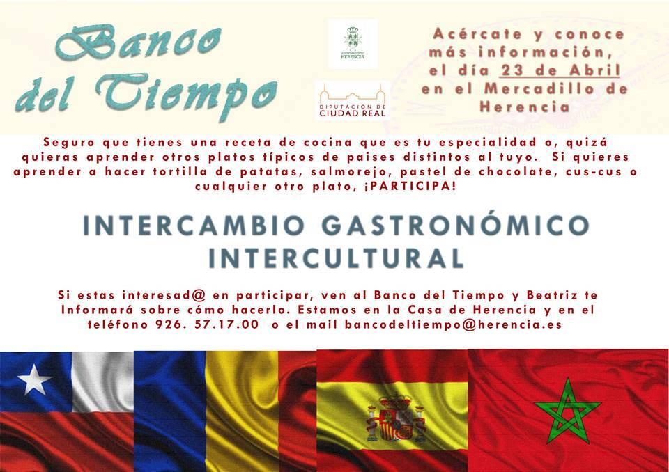 El Banco del Tiempo prepara un intercambio gastronómico intercultural 1
