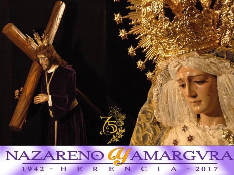 """nazareno y amargura de Herencia - """"Los Moraos"""" ponen todo a punto para su Salida Extraordinaria del próximo sábado"""