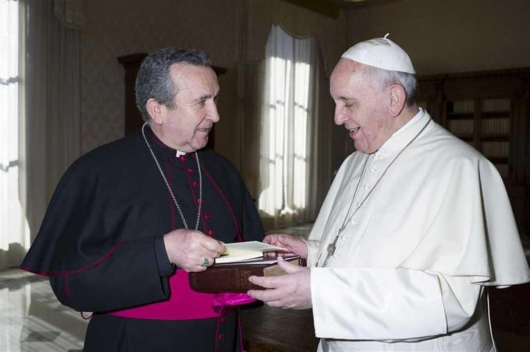papa nombra a gerardo melgar nuevo obispo ciudad real 1068x710 - El papa nombró a Gerardo Melgar nuevo obispo de Ciudad Real