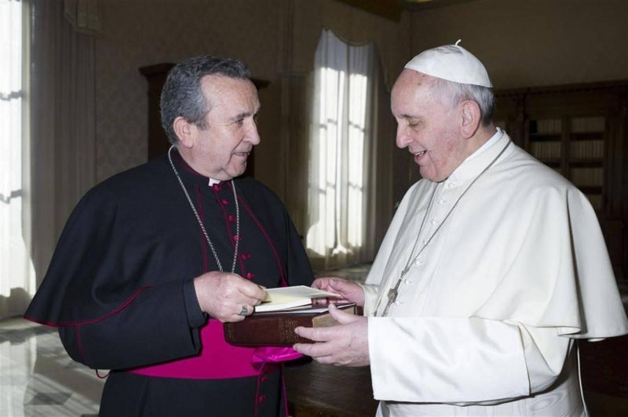 papa nombra a gerardo melgar nuevo obispo ciudad real