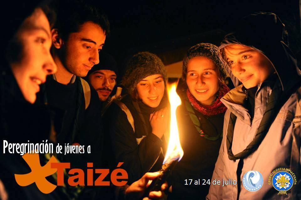 Peregrinación de jóvenes a Taizé durante el mes de julio 1
