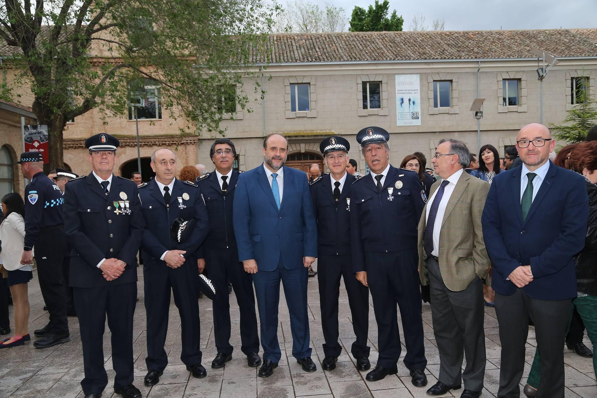 policia local y gobierno regional